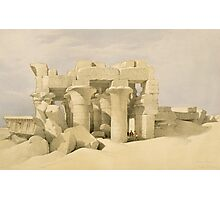 Temple of Sobek and Haroeris at Kom Ombo Photographic Print