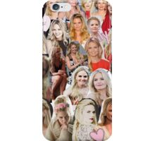 Jennifer Morrison - Collage iPhone Case/Skin