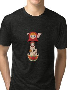 Babushka Tri-blend T-Shirt