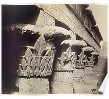 The Capitals of the Portico, Temple of Khnum, Esna Poster