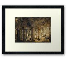 Roslyn Chapel Framed Print