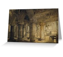 Roslyn Chapel Greeting Card