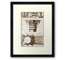 Temple of Antoninus and Faustina Framed Print