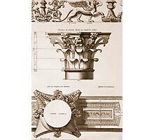 Temple of Antoninus and Faustina Photographic Print