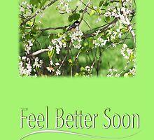 Feel Better Soon Black Cap Chickadee by daphsam