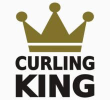 Curling king champion Kids Clothes