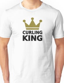 Curling king champion Unisex T-Shirt