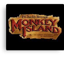 Monkey Island 2 logo Canvas Print