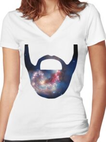 Vector 2 Women's Fitted V-Neck T-Shirt