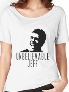 Unbelievable Jeff - Chris Kamara Women's Relaxed Fit T-Shirt