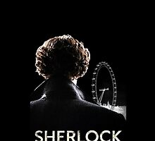 SHERLOCK CASE - BLACK by jessvasconcelos