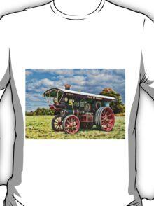 Burrell showmans Steam engine T-Shirt