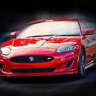 Jaguar XKR by Geoff Carpenter