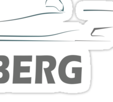 Nico Rosberg 6 Sticker
