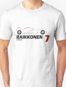 Kimi Raikkonen 7 T-Shirt