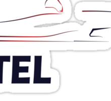 Seb Vettel 5 Sticker