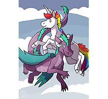Dragons & Unicorns Photographic Print