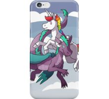 Dragons & Unicorns iPhone Case/Skin