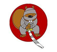 Ninja Beaver by AmazingMart