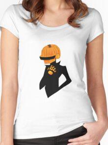 daft pumpkin Women's Fitted Scoop T-Shirt