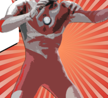 UltraMan Japanese Fun Time Sticker