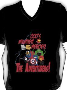 The Adventurers! - Avengers/Adventure Time T-Shirt