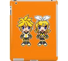 Rin & Len Pixels iPad Case/Skin