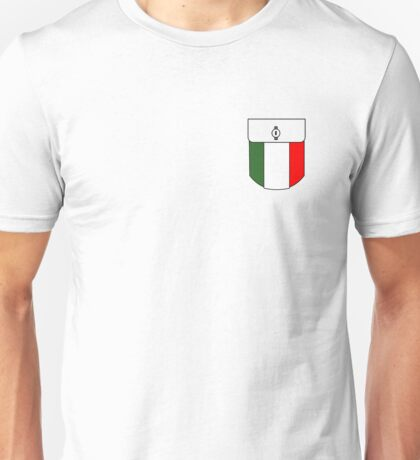 Italia Pocket Unisex T-Shirt