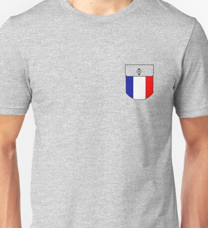 France pocket Unisex T-Shirt