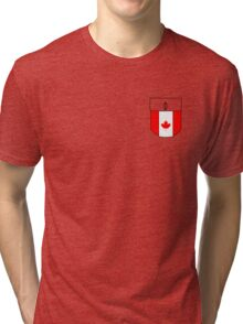 Canada pocket Tri-blend T-Shirt