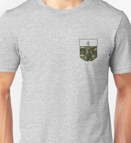 Camo pocket Unisex T-Shirt