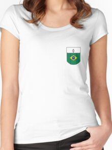 Brasil pocket Women's Fitted Scoop T-Shirt