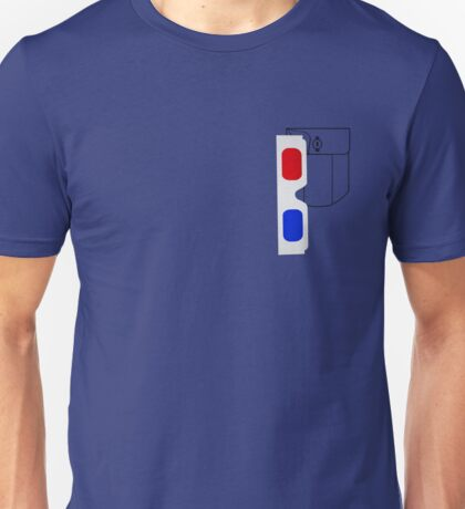 3d Pocket Unisex T-Shirt