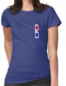 3d Pocket Womens Fitted T-Shirt