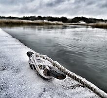 Winter Shem Creek by cking1224