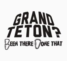 Grand Teton Mountain Climbing by Location Tees