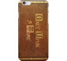 Once Upon A Time - Fitted Book Cover iPhone Case/Skin