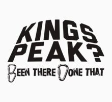 Kings Peak Mountain Climbing by Location Tees
