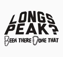 Longs Peak Mountain Climbing by Location Tees