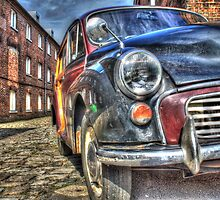 Call The Midwife Film Set Morris Minor Car by paulmuscat