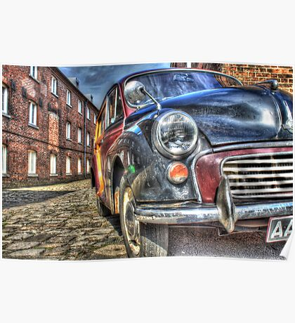 Call The Midwife Film Set Morris Minor Car Poster