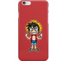 Monkey D. Luffy Pixel iPhone Case/Skin