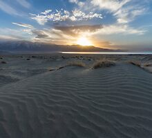 Sand and Sunset  by Richard Thelen