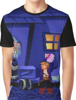 Guybrush and the voodoo (Monkey Island 2) Graphic T-Shirt