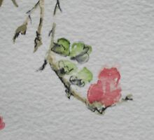 Detail from Flowering Quince by kest standley