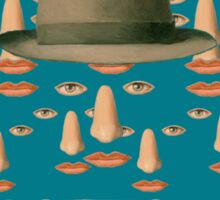 Tribute to MAGRITTE Sticker