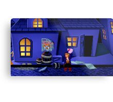 Guybrush and the voodoo (Monkey Island 2) Metal Print