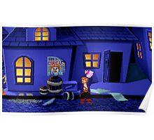 Guybrush and the voodoo (Monkey Island 2) Poster