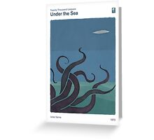 "Jules Verne ""Twenty Thousand Leagues  Under the Sea"" Greeting Card"