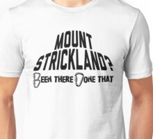 Mount Strickland Mountain Climbing Unisex T-Shirt